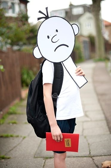 Wimpy Kid character dress up - even easier!