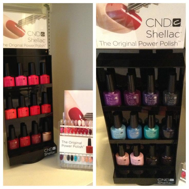 New Shellac Summer Colours at Ooh, La, La in Milton!