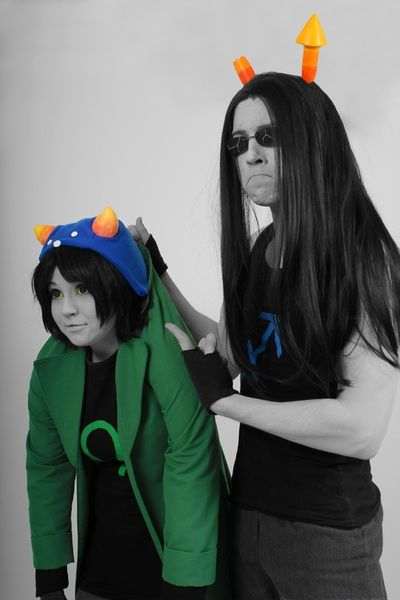 HomeStuck Cosplay || The Leo and The Sagittarius ||