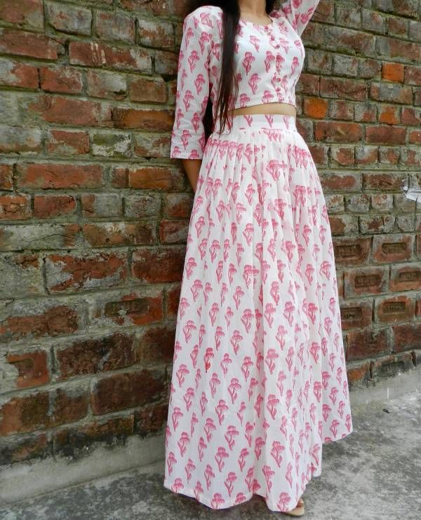Pink tulip twin set  |  Shop now: www.thesecretlabel.com