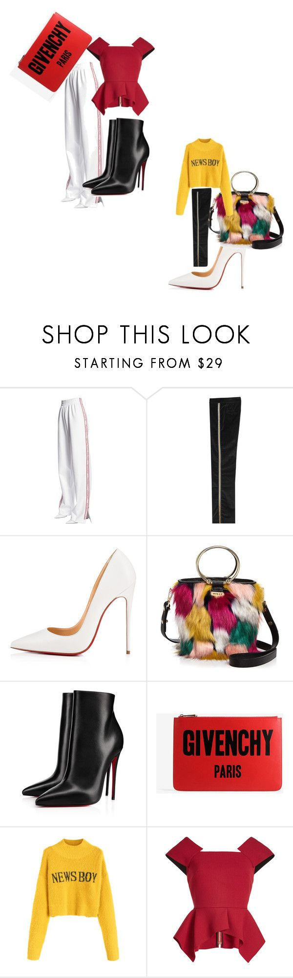 """""""casual affair"""" by designa-999 on Polyvore featuring Misbehave, The Seafarer, Christian Louboutin, Milly, Givenchy and Roland Mouret"""