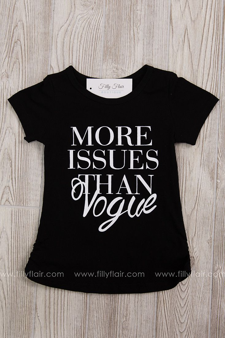 More Issues Than Vogue Kid's Tee