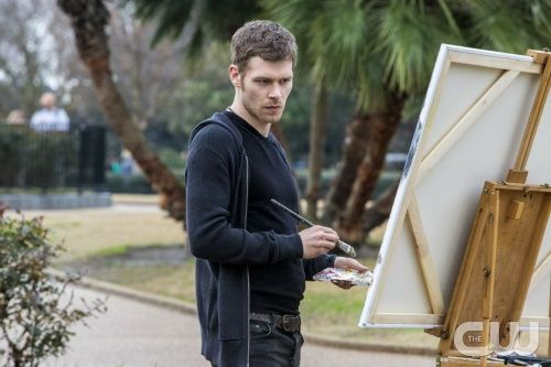 """The Originals -- """"Moon Over Bourbon Street"""" -- Image Number: OR117c_0166.jpg -- Pictured: Joseph Morgan as Klaus - Photo: Skip Bolen/ The CW -- © 2014 The CW Network, LLC. All rights reserved."""