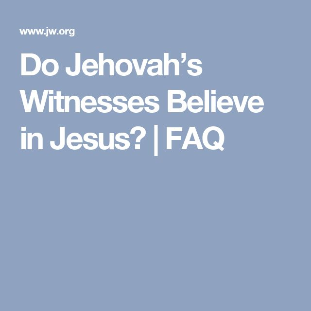 Jehovah witness hookup a non believer