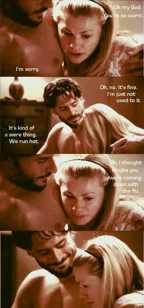 True blood - Alcide and Sookie....Please let them get together!