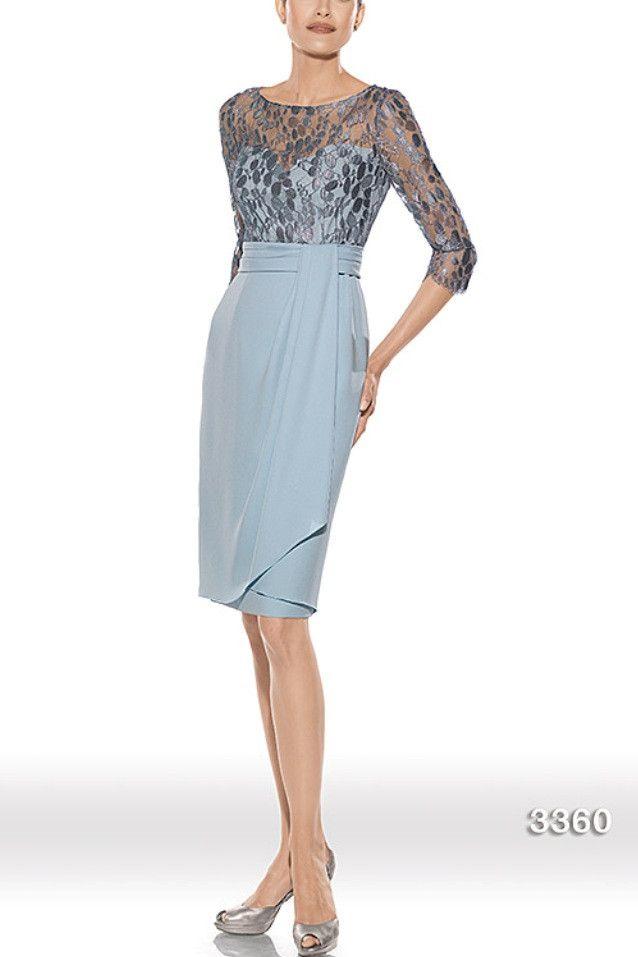 Vestido de madrina modelo 3360 by Teresa Ripoll   Boutique Clara. Tu tienda de vestidos de fiesta.