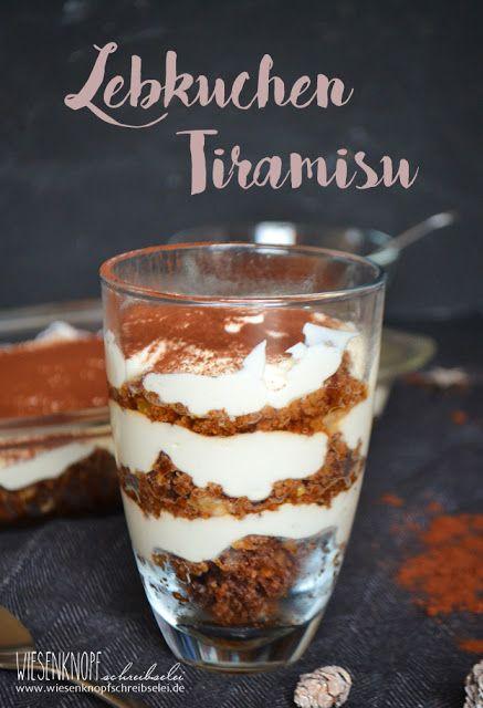 lecker dessert für weihnachten lebkuchen tiramisu