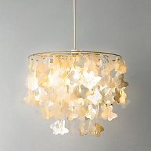 Buy John Lewis Easy-to-fit Bella Capiz Ceiling Light Online at johnlewis.com