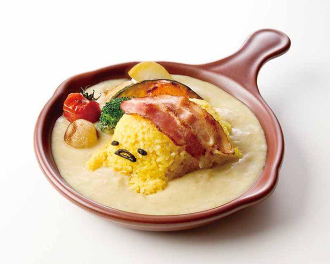 「ぐでたま」初の常設カフェが大阪HEP FIVEに登場。オープン日は2015年12月19日(土)。  2015年夏に期間限定カフェとしてオープンした「ぐでたまかふぇ HEP FIVE店」が、メニュ...