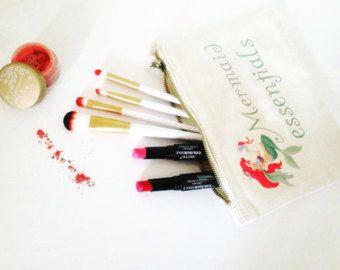 Zeemeermin essentials middellange make-up tas