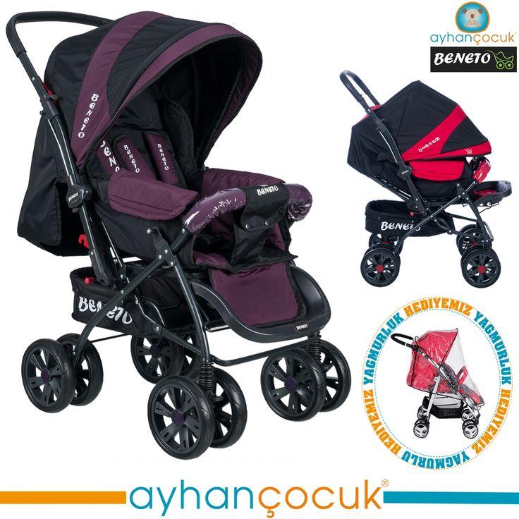 Beneto BT-555 Aero Çift Yönlü Bebek Arabası - Ayhan Çocuk | Anne ve Bebek Ürünleri Mağazası - Kampanyalar