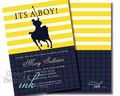 polo baby shower | Baby shower themes