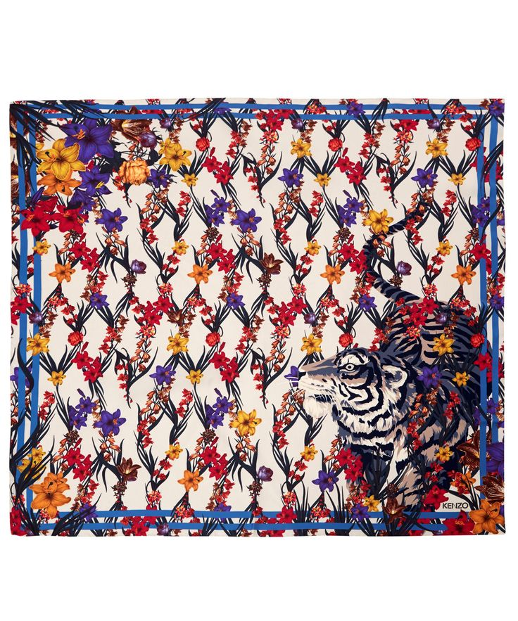 75 best European Designer Silk scarves images on Pinterest | Silk ...