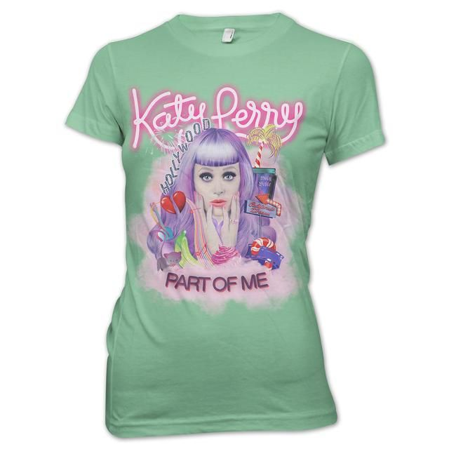 Check out Katy Perry Part Of Me Girlie T-Shirt on @Merchbar.
