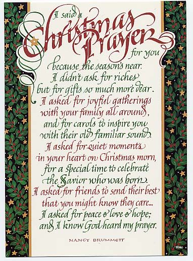 merry christmas prayer | Christmas Prayers