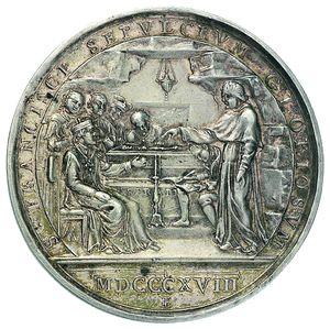 Artemide Aste - Asta XXVI: 1277 - Pio VII (1800-1823) Medaglia annuale A.XXII - Dea Moneta