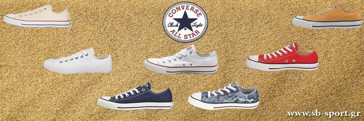 Converse All Star Μεγάλη συλλογή απο Converse για το φετινό καλοκαίρι!! #sbsportgr #sbsport #converse #converseallstar #summer #summers2016 #onlinesale #onlineshop #style #fashion #footwear
