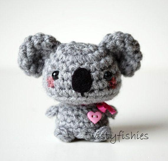 Llavero Koala Amigurumi : Mas de 25 ideas fantasticas sobre Peluche Koala en ...