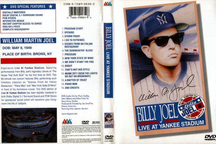 Full DVD The Billy Joel Live At Yankee Stadium 1990