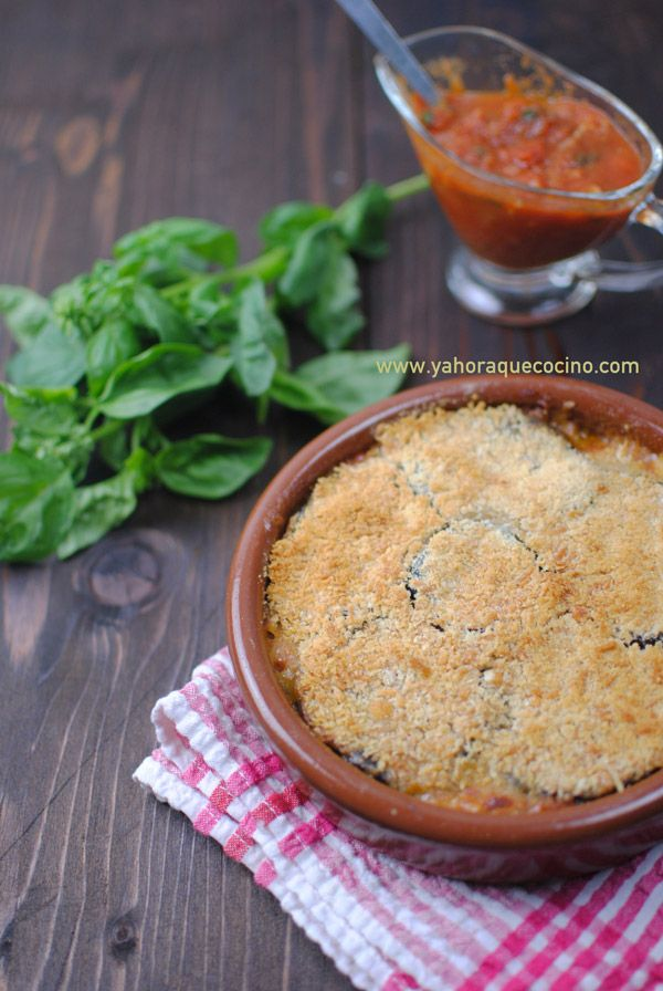Berenjenas al Horno con Mozzarella y Tomate