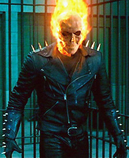 Ghost Rider (Nicholas Cage 2007 movie) in a prison