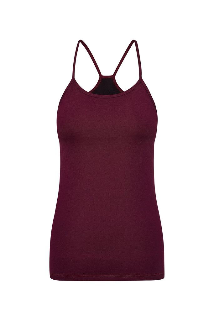 Mulberry Qi Sports Tank – Dharma Bums Yoga and Activewear