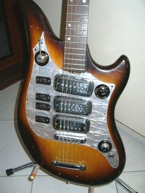 Vintage maton guitars