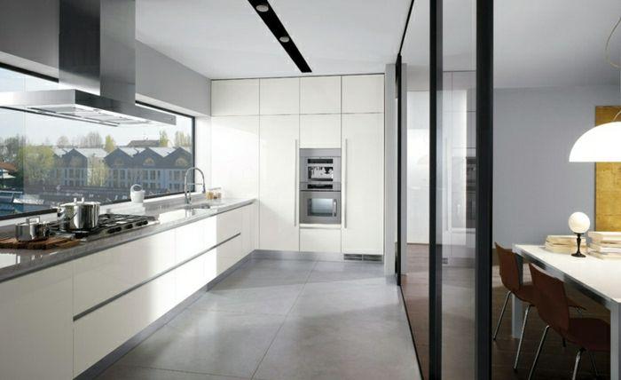 Idee deco cuisine blanche laquée design d intérieur cuisine