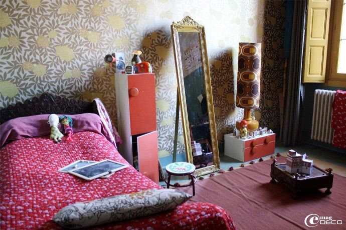 17 meilleures id es propos de couvre lit rouge sur pinterest couleurs palettes de couleurs. Black Bedroom Furniture Sets. Home Design Ideas