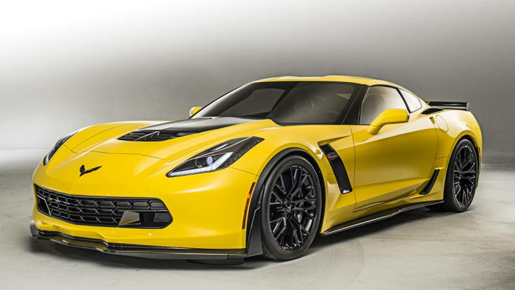 2015 Chevrolet Corvette C7 Supercharged.