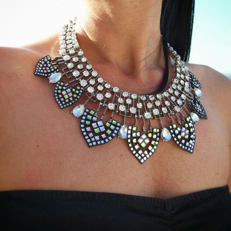 Necklace, statement necklace, beautiful necklace, www.ninojewelry.hu