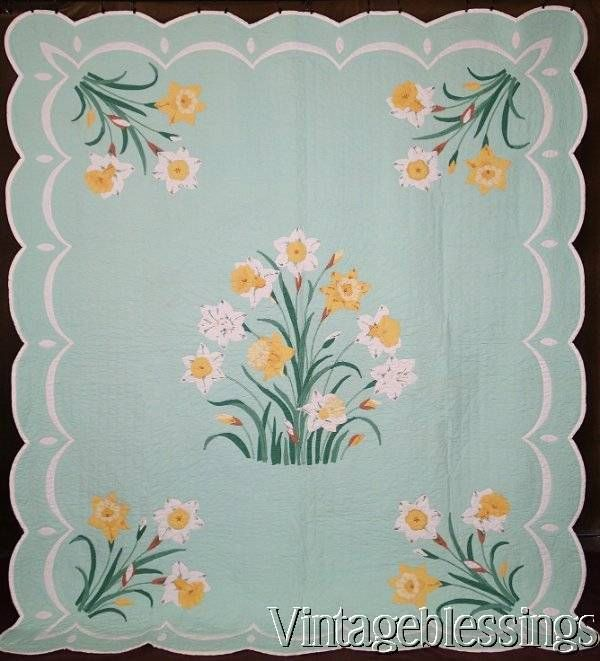 13 Best Images About Vintage Applique Quilts Possibly From