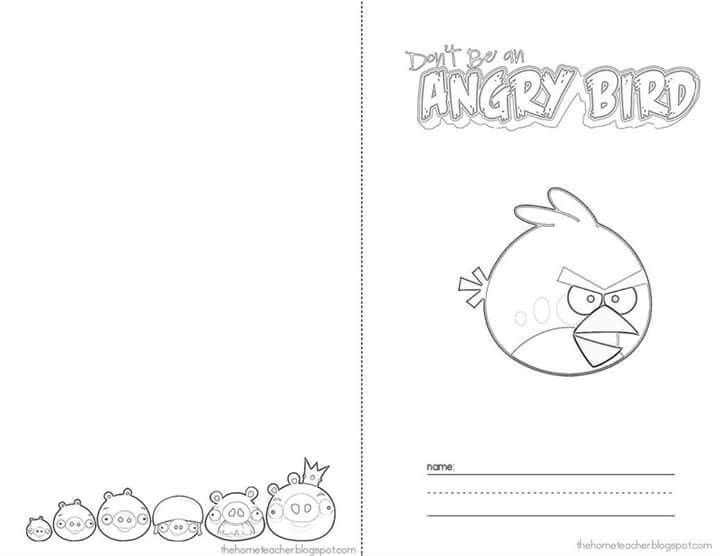 16 best Angry Bird images on Pinterest | Counseling activities, 2nd ...