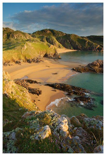 Boyeeghter Bay, Rosguill, County Donegal.