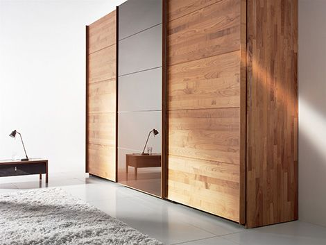 solid wood wardrobe by team 7 valore sliding door wardrobes are green - Designs For Wardrobes In Bedrooms