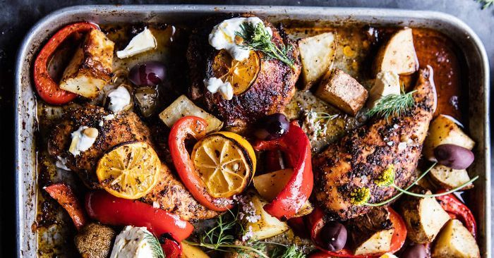 7 Sheet Pan Dinners That Will Make Your Life Infinitely Easier | MyDomaine