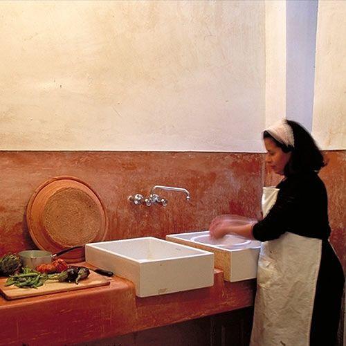 244 best images about reformando la cocina on refait la for Tadelakt cuisine