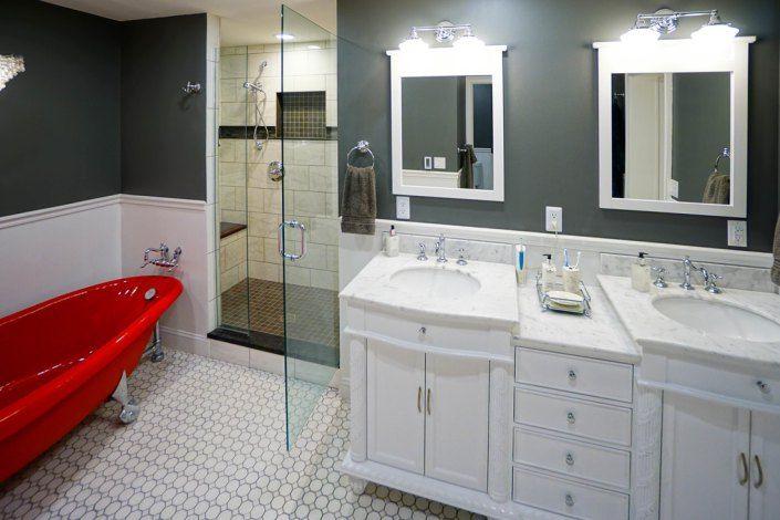 Powell Oh Remodel Buckeyelifestyle Grey Redtub Bathrooms Remodel Remodel Tub