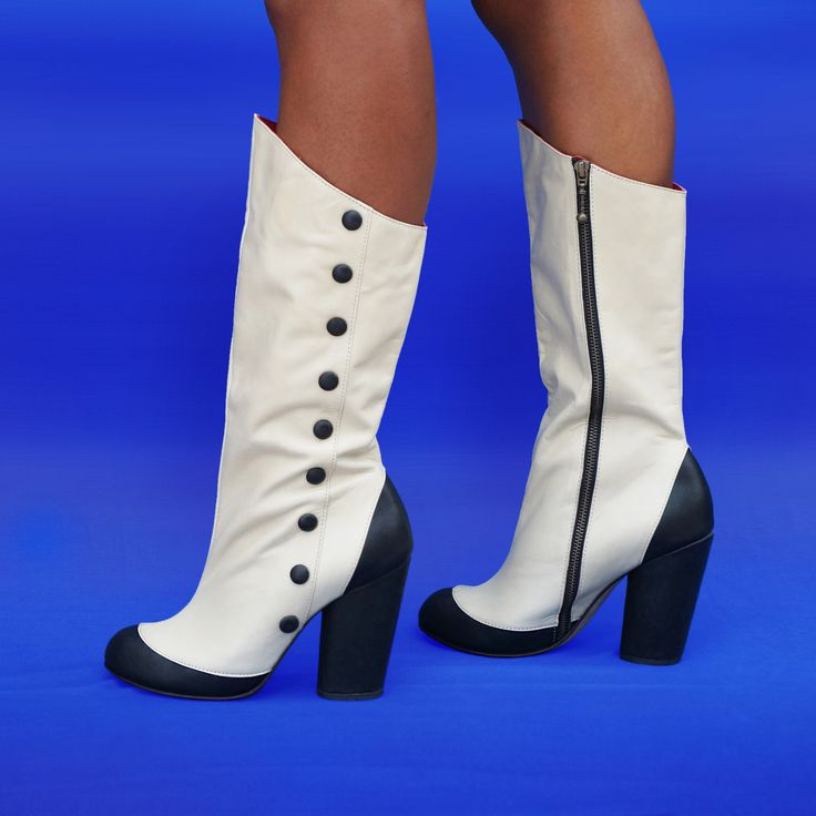 Spat Vintage inspired Boot by Preston Zly