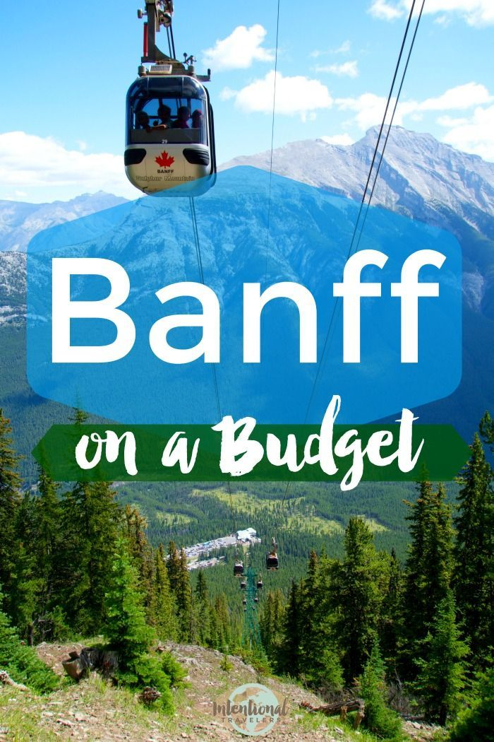 Cheap and free things to do in Banff on a budget - budget hotels and hostels, plus best biking, hiking, and scenic drives
