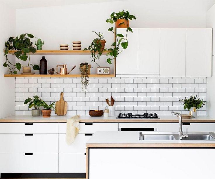 85+ Beautiful Scandinavian Backsplash Ideas For A Small Kitchen