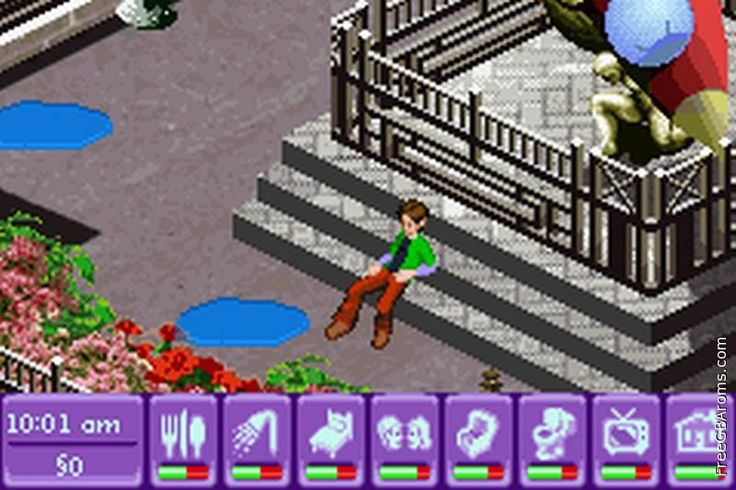 Very interesting role-playing #game where you have to live and interact in Miniopolis city. Includes several mini-games and lots of missions. #Addictive. Free for #gameboy advance #gba emulators.
