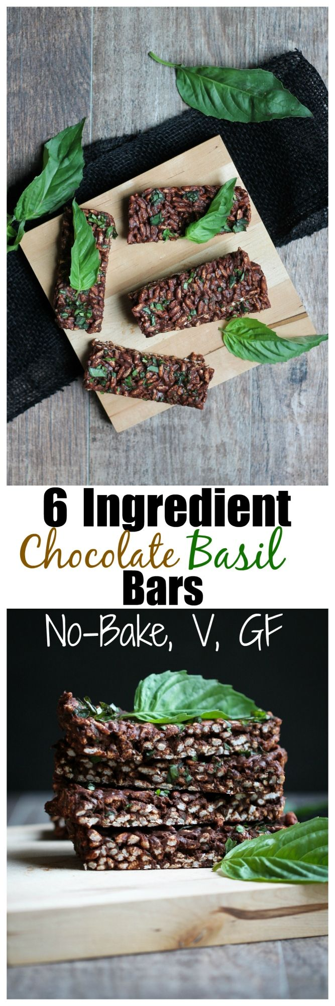 Okay, so chocolate and basil, have you tried that combo yet? It may sound a bit odd to many of you, but I actually happen to love it. It's definitely an acquired taste though. In other words, you ...