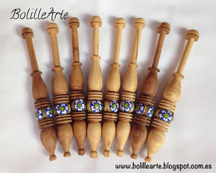 BolilleArte : Bolillos / Bobbins 12cm