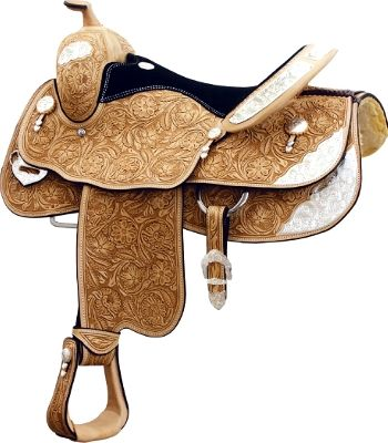 Billy Cook Hunt County Show Saddle | ChickSaddlery.com- my new western saddle is very similar to this,it is amazing!