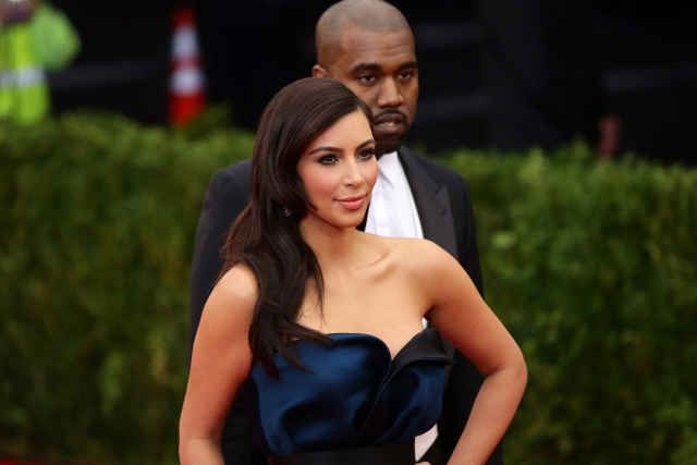 Kim Kardashian at the 2014 Met Ball. Photo: Neilson Barnard/Getty Images