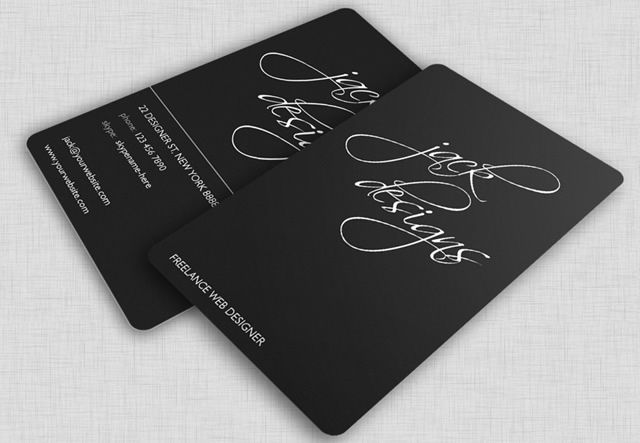 'Jack Designs' is a corporate identity design package for those who appreciate elegant and clean design. (by RobbyDesigns.com)