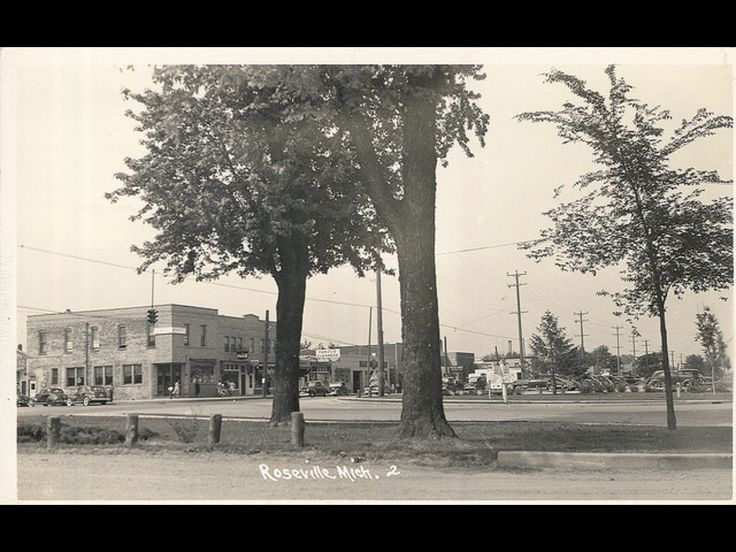 Roseville Michigan this picture was taken right across from the Roseville  Theatre on Gratiot righ where