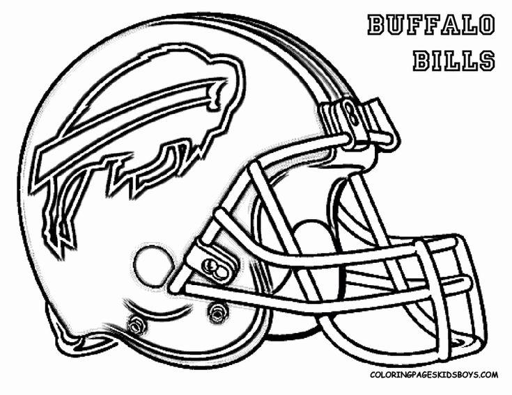 Football Helmet Coloring Page Fresh Nfl Football Helmet Coloring Pages Coloring Home