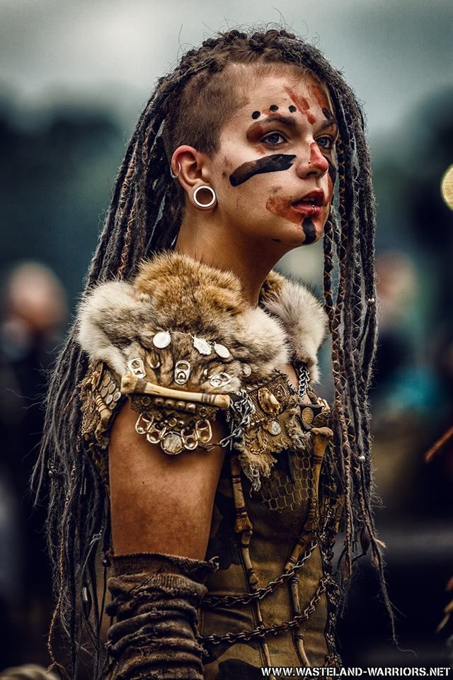 Postapocalyptic tribal look                                                                                                                                                                                 More